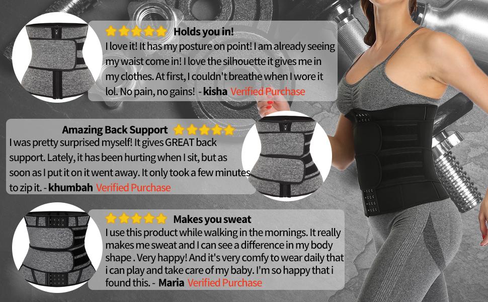 waist trainer belly band