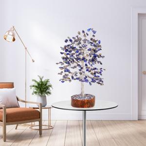 lapis lazuli tree crystals for work desk buddah statute metaphysical gifts for women feng shui