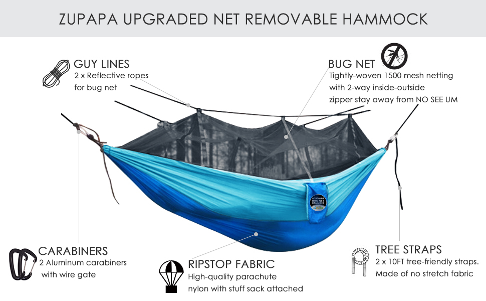 lightweight hammock for camping