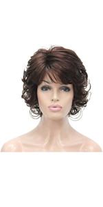 Short Finger Waves Hairstyles Women African American Black Flapper Wig