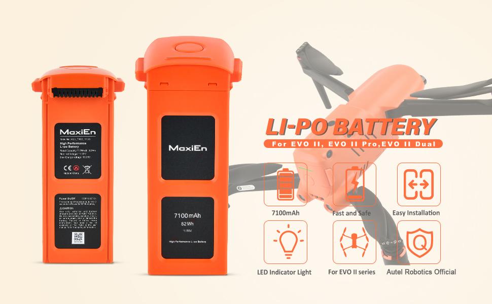 Autel Robotics EVOII Battery