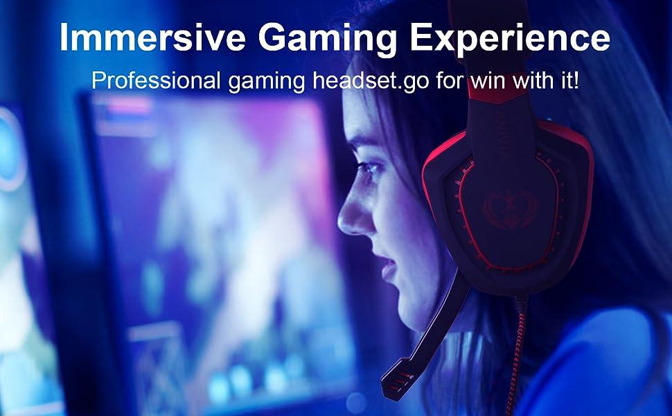 AH28 Gaming Headset
