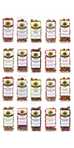1.5 oz 20-pack variety bold spicy wasabi garlic jalapeno smokehouse chili roasted flavor snack nuts