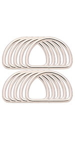 2'' d ring buckles