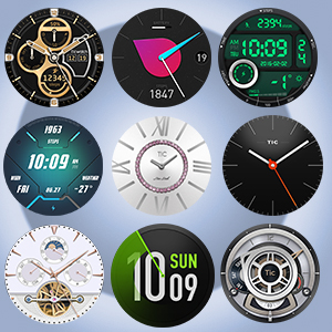 Hundreds of Watch Faces