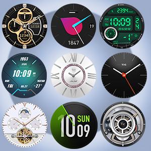 Cientos de Caras de Relojes