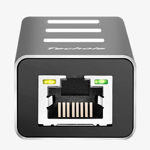 LAN Gigabit Ethernet RJ45 Con Adattatore USB C