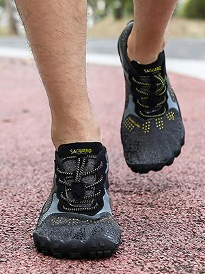 SAGUARO Hombre Mujer Antideslizante Fivefingers Minimalistas Zapatillas Barefoot,Gr 36-47 EU: Amazon.es: Zapatos y complementos