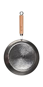 ZhenSanHuan, flat bottom, wok and stir fry pan, flat bottom, induction, hand hammered wok pan, pan