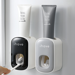 toothpaste dispenser for bathroom