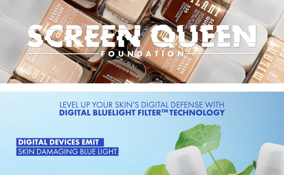 foundation, foundation concealer, makeup foundation, best foundation, blue light, milani