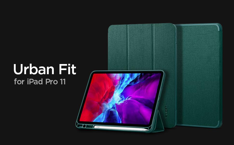 Spigen Urban Fit Kompatibel Mit Ipad Pro 11 Hülle Mit Elektronik