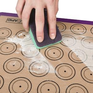 silicone macaron macaroon cookie baking mats