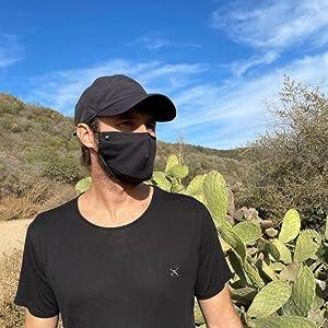 tropical travel face mask desert tropical temperatures