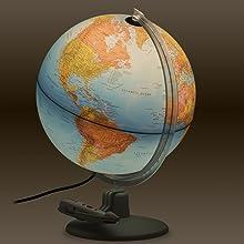 Parlamondo Illuminated Talking Globe
