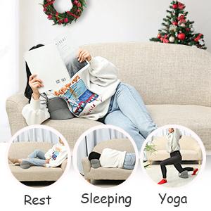 Cuscini per le gambe