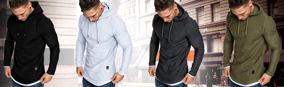 Men Fashion Hoodie Sweatshirts