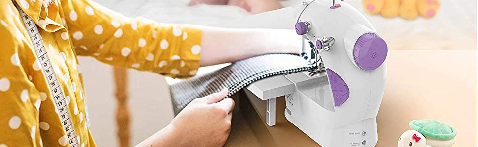 Compatible with most household sewing machines