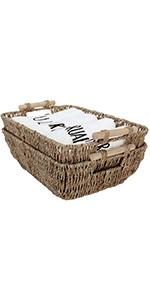 StorageWorks Hand-Woven Baskets