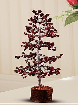 red jasper  sacral root chakra gemstone crystal healing tree feng shui bonsai