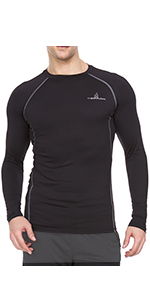 Thermajohn Men's Compression Shirt