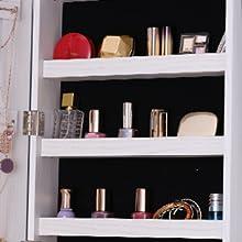5 Storage shelves