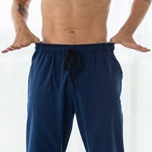 mens elastic waist capri capris cargo workout yoga pants shorts cotton with pockets big tall