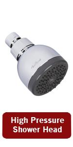 aqua elegante high pressure shower head