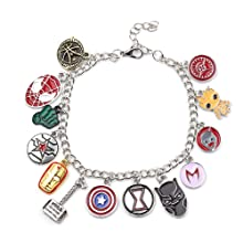 Marvel Anime Series Charm Bracelet