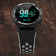 Multifunctional Wrist-type Heart Rate Monitoring Watch for Men and Training Running Sports Watch