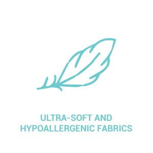 Ultra-soft and hypoallergenic fabrics La Premura Unicorn