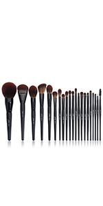 MUA brush set