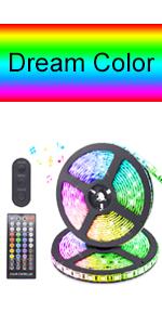 Remote control-Dream Color-Music-32.8ft