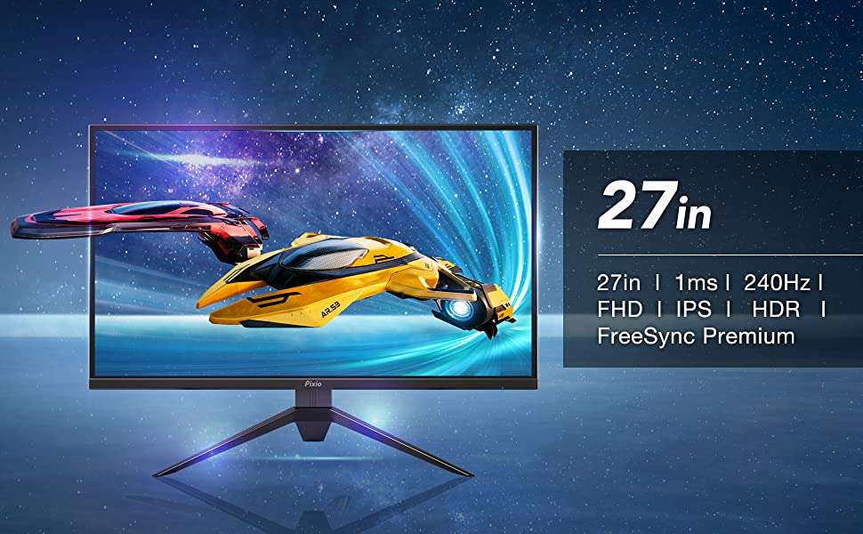 PX279 Prime 27 Inch 240Hz Esports IPS Gaming Monitor