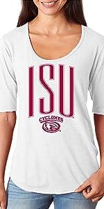 CornBorn ISU Cyclones Womens Tee Shirt