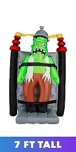 electric monster Frankenstein