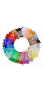 Colorful Organza Bags