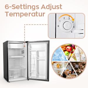 small fridge for bedroom
