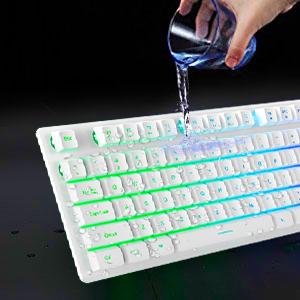 water-resistant keyboard