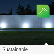 Solar Path Lights, Dusk-to-Dawn, Cross Spike Stake for Easy in Ground Install, Solar Powered LED
