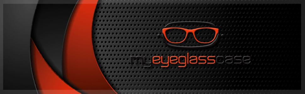 MyEyeglassCase hard sunglasses case large hard eyeglass case extra-large hard shell glasses case