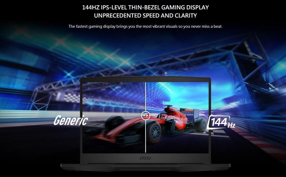 144Hz IPS-Level Thin-Bezel Gaming Display