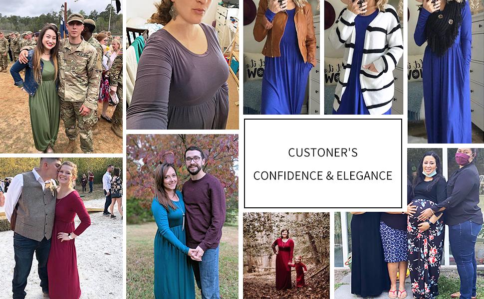lightweight maxi dress