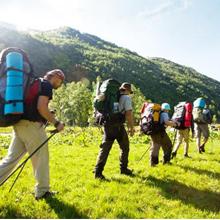 travel hiking use