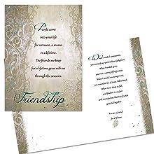 Friendship Card Olive