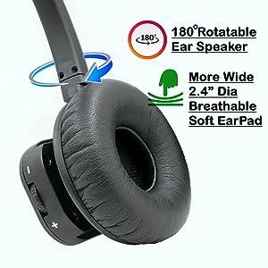 Innotalk Polycom wireless headset large speaker