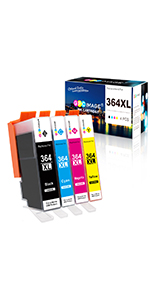 GPC Image Cartuchos de Tinta Compatible para HP 364 364XL (Negro ...
