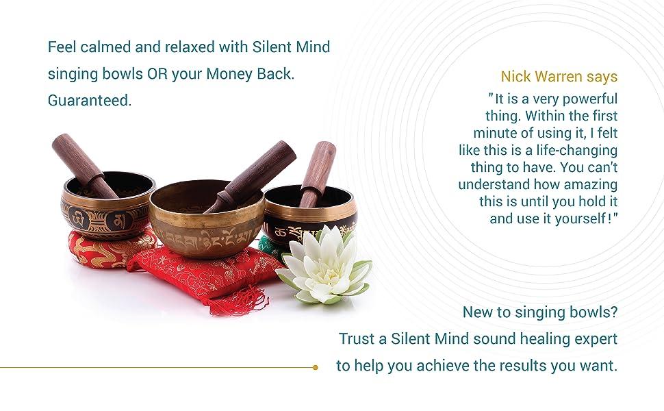 Silent Mind Singing Bowl