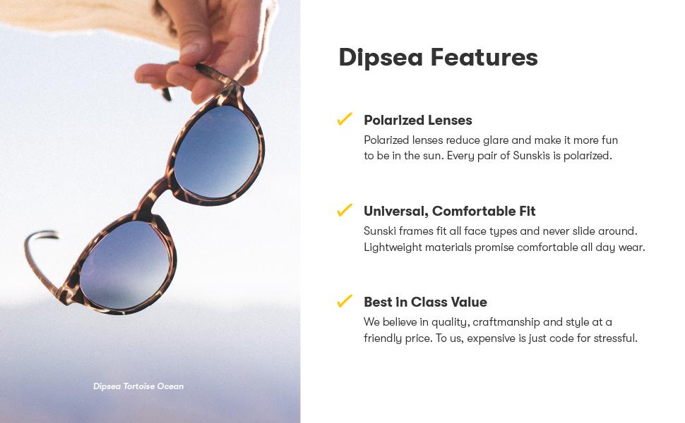 Dipsea Features