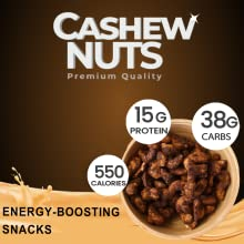 Cacao Cashew, rich fiber, snack,energy snack, healthy snack, eubiz cashew, honey cashew, roasted